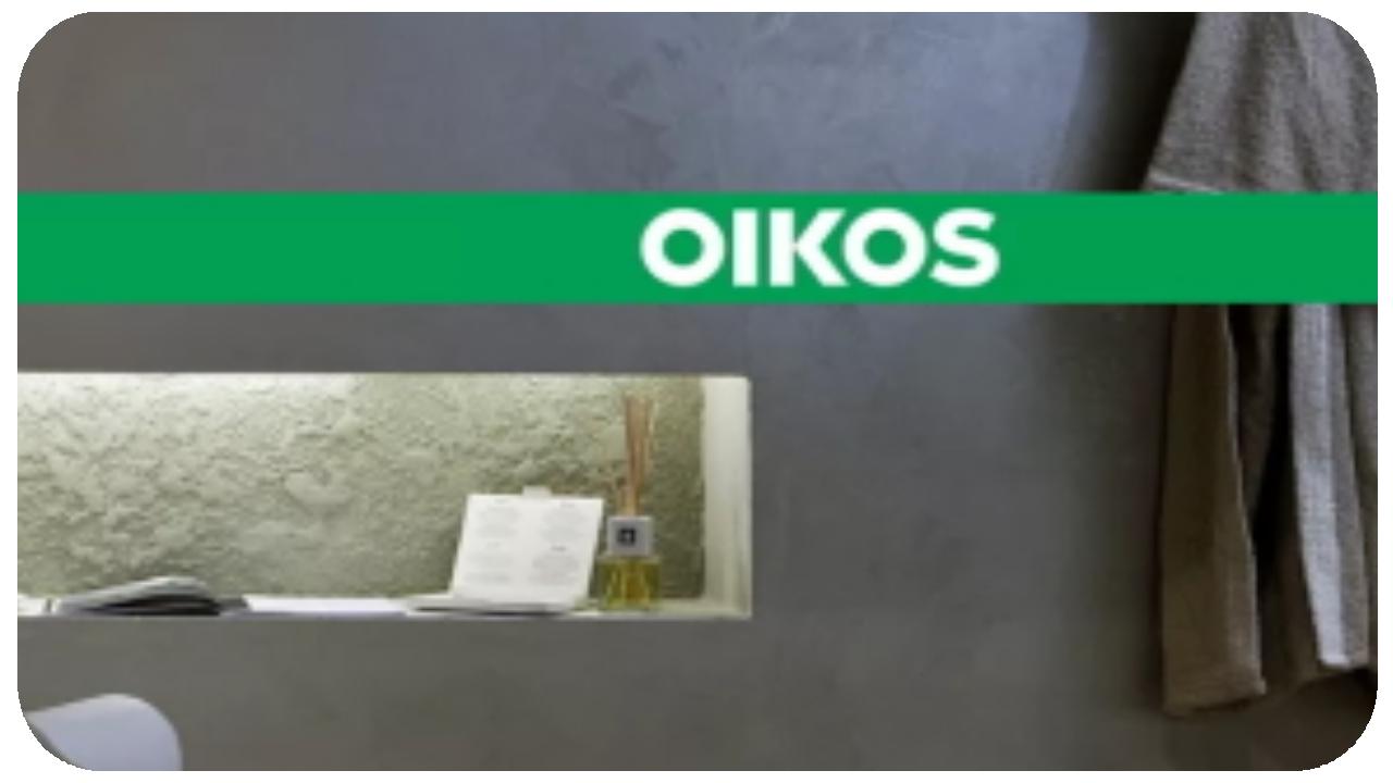 краски и штукатурка OIKOS купить в студии цвета в твери